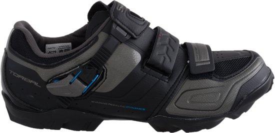 Noir Chaussures Shimano Avec Velcro Pour Les Hommes WozXK