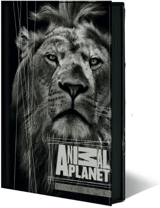 Animal Planet zwart schoolagenda 2017 2018