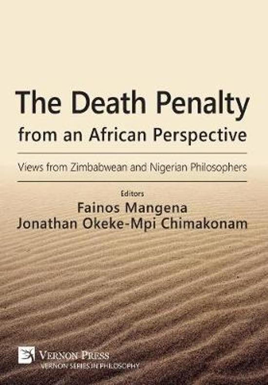 The Death Penalty from an African Perspective