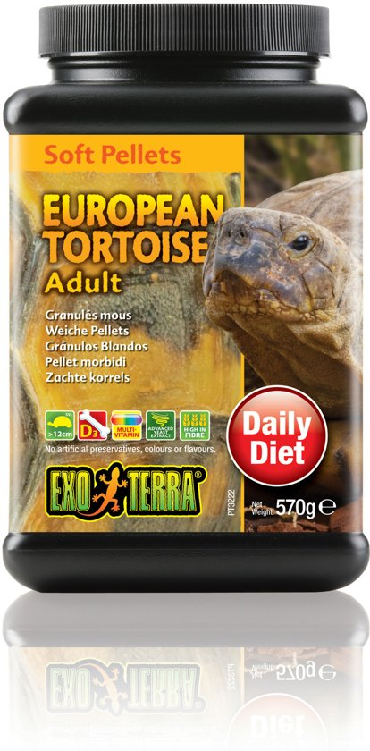 Soft Pellets Europese Schildpad 570 gram