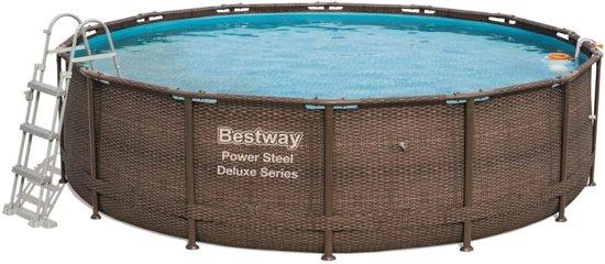 Bestway Power Steel Deluxe Series Zwembadset rond 427x107 cm 56664