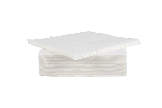 Cosy & Trendy Servet - 19.5 x 19.5 cm - 40 Stuks - Wit Valentinaa