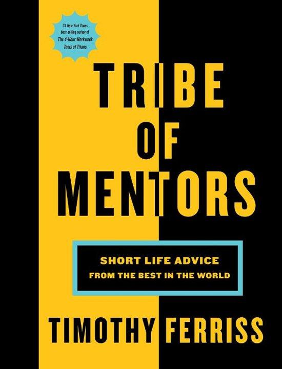 Boek cover Tribe of Mentors van Timothy Ferriss (Paperback)