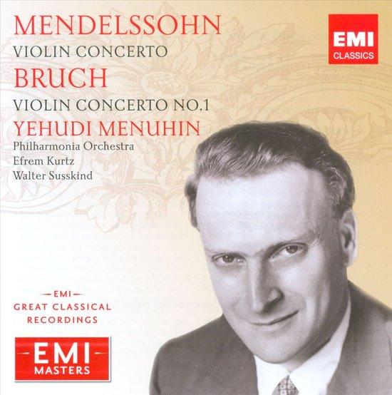 Bruch/Mendelssohn: Violin Conc