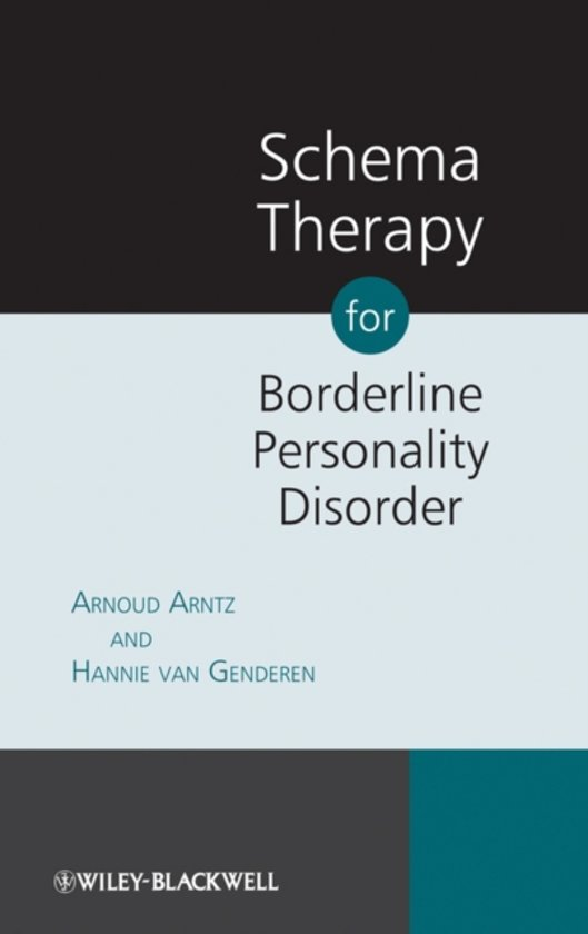 Boek cover Schema Therapy for Borderline Personality Disorders van Arnoud Arntz (Paperback)
