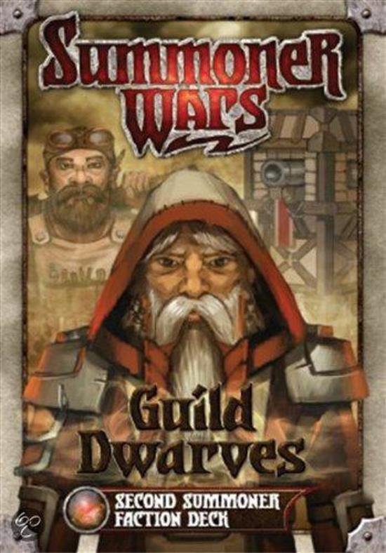 Afbeelding van het spel Summoner Wars Guild Dwarves 2nd Faction Deck