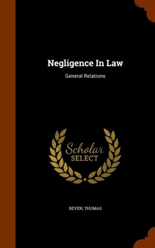 Negligence in Law