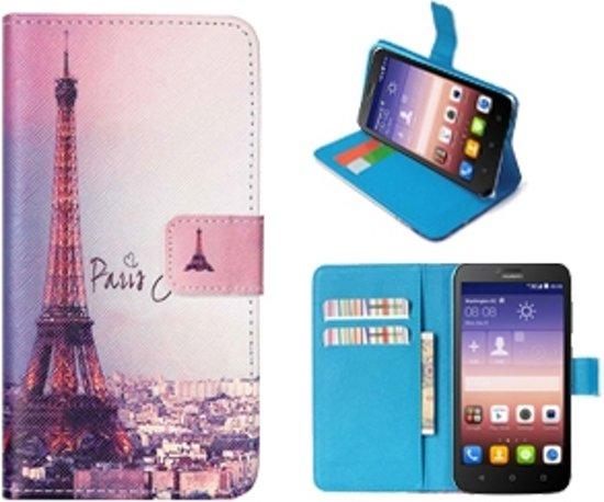 Huawei Ascend Y625 Portemonnee Hoesje Case Parijs