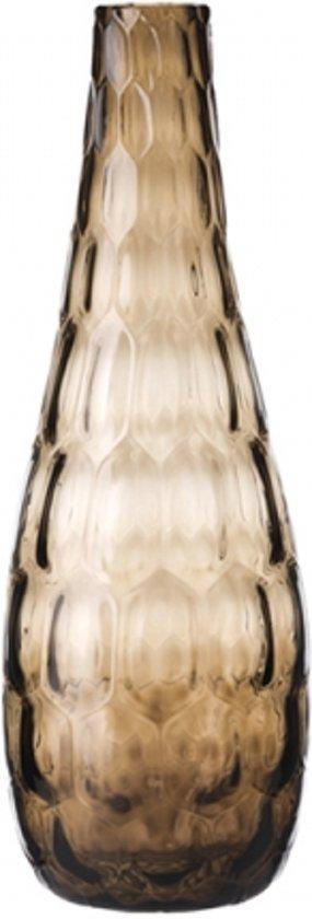 Leonardo Solifleur Vaas 39 cm - bruin/glas