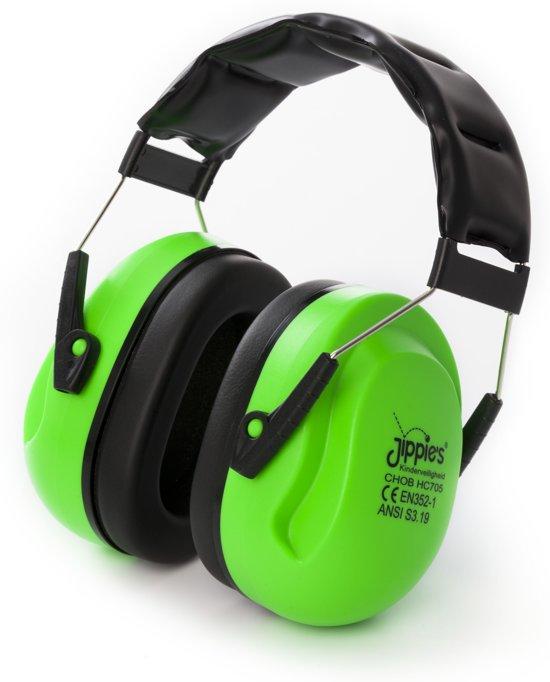 Jippie's - Gehoorbeschermer - XL - Groen