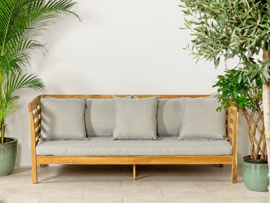 Lanterfant® Loungebank Mandy - Acacia Hardhout - Inclusief kussens