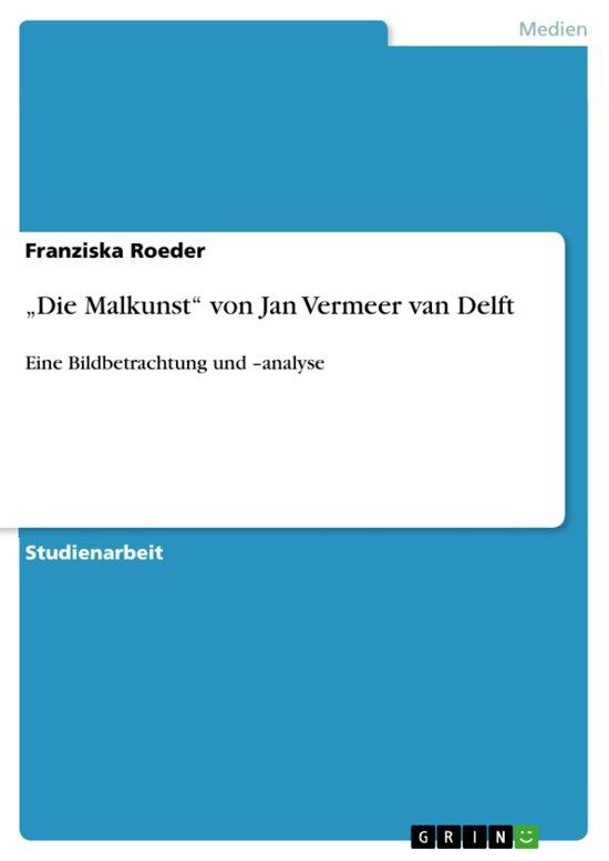 bol.com | \'Die Malkunst\' von Jan Vermeer van Delft (ebook ...