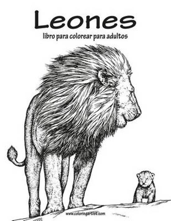 bol.com | Leones Libro Para Colorear Para Adultos 1, Nick Snels ...