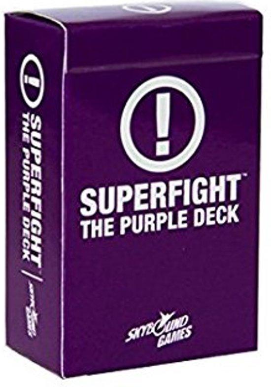 Afbeelding van het spel Superfight: The Purple Deck