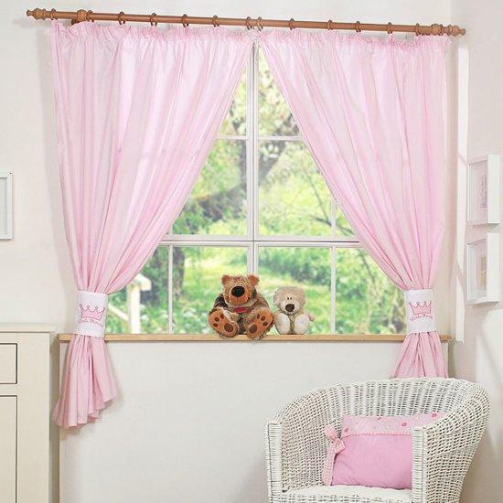 my sweet baby gordijn little princess roze 2 stuks