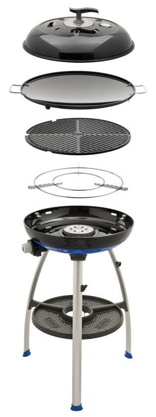 Review: Carri Chef 2, handige gasbarbecue, skottel en oven