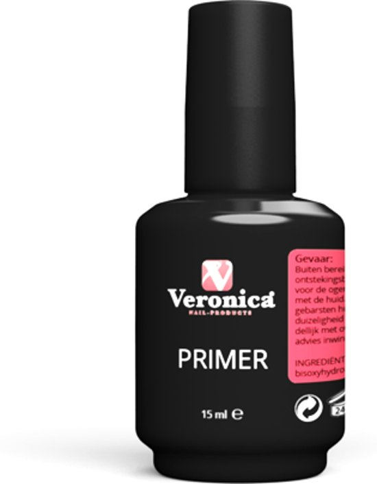 veronica nail products primer 15ml voor gel en acrylnagels. Black Bedroom Furniture Sets. Home Design Ideas