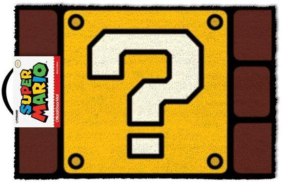 de640d73d98 bol.com | Nintendo Super Mario Question Mark Block - Deurmat
