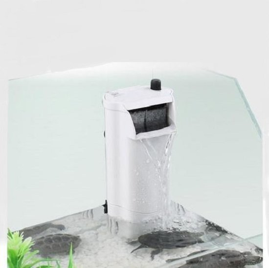 Sunsun schildpadden / aquarium binnenfiler 3W - 300L/h
