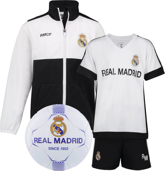 Real Madrid vest + Real Madrid Thuis Tenue + Real Madrid voetbal No2