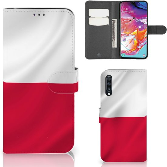 Bookstyle Case Samsung Galaxy A70 Polen