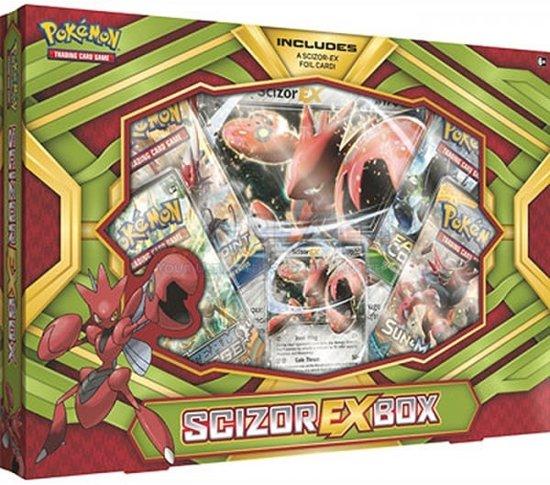 Afbeelding van het spel Pokémon kaarten TCG Scizor EX Box C12