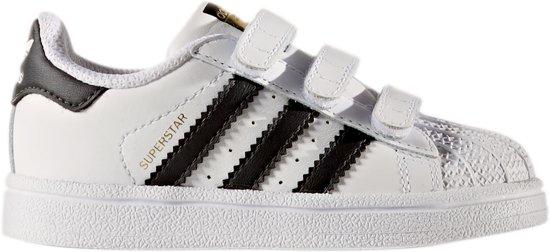 5abf7dc4b94 bol.com | Adidas Meisjes Sneakers Superstar Cf I - Wit - Maat 26