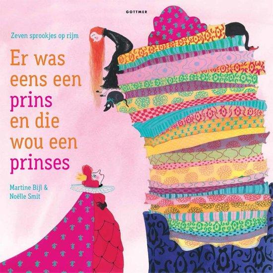 Boek cover Er was eens een prins en die wou een prinses van Martine Bijl (Hardcover)