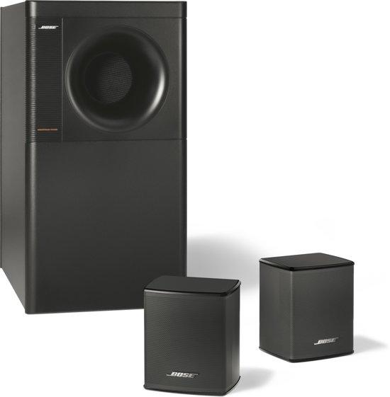 bose acoustimass 3 serie v 2 1 speakerset zwart. Black Bedroom Furniture Sets. Home Design Ideas