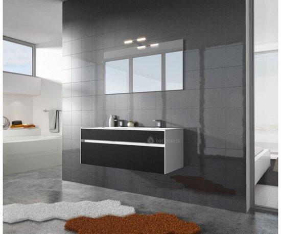 Bol badplaats badkamermeubel lyon cm zwart kast met