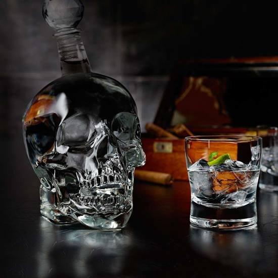 MikaMax - Skull bottle 1L - Karaf