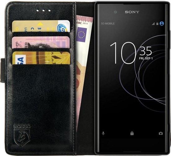 tui Noir Livret Mince Pour Sony Xperia Xa1 QKytlmiX5t