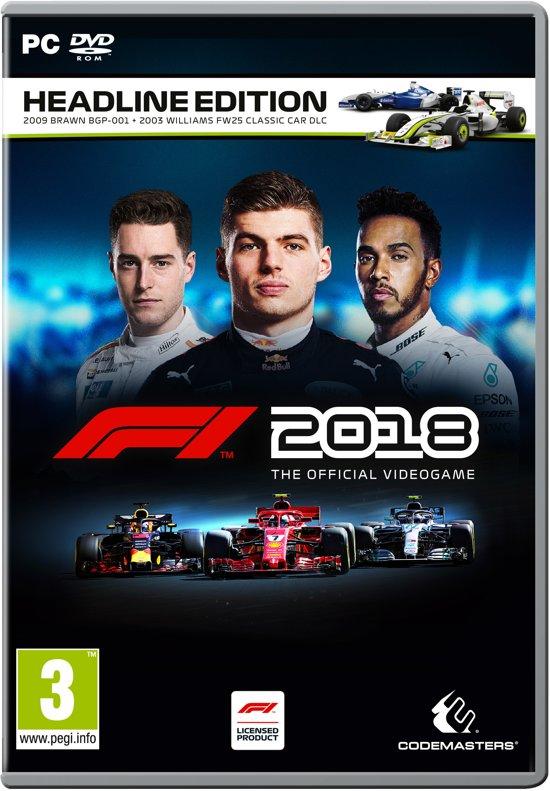 F1 2018 Headline Edition - PC