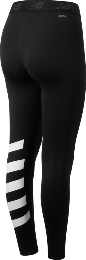 New Balance PRINTED ACCELERATE TIGHT Dames Sportlegging - Black - L