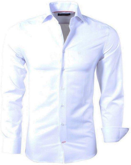 Heren Overhemd Wit.Bol Com Montazinni Heren Overhemd Wit