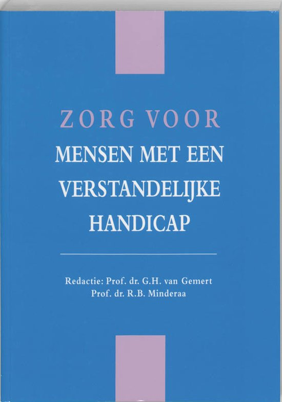 Boek cover Zorg voor mensen met een verstandelijke handicap van Div (Paperback)