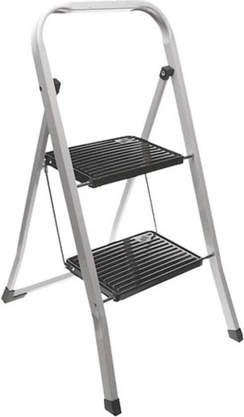 Excellent houseware huishoudtrapje keukentrap met 2 treden - Handige trap ...