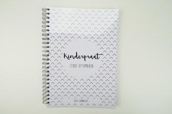 Kinderpraat - Invulboek voor leuke brabbels en uitspraken