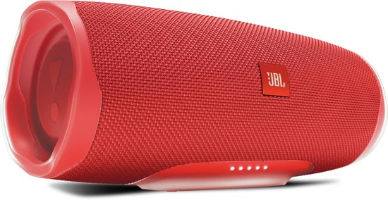 JBL Charge 4 - Bluetooth Speaker - Rood