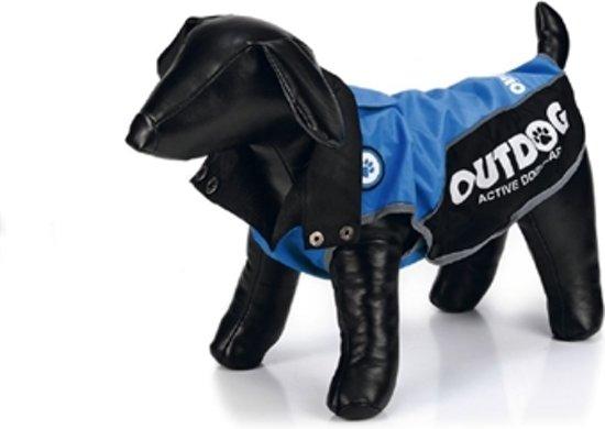 Outdog Regenjas - Hondenjas - Blauw - XL - 47 cm