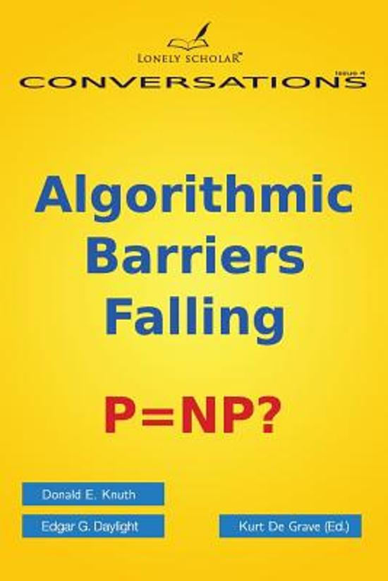 Algorithmic Barriers Falling