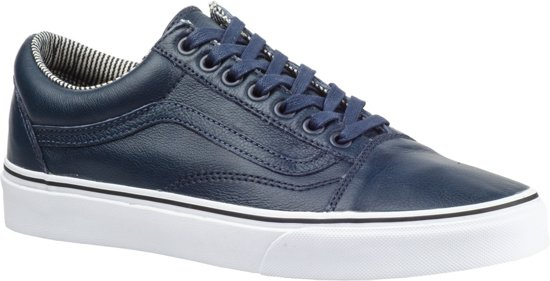 bf1b6e1d9e Vans Sneakers - Old Skool Leather Dress Unisex Blauw Maat 34