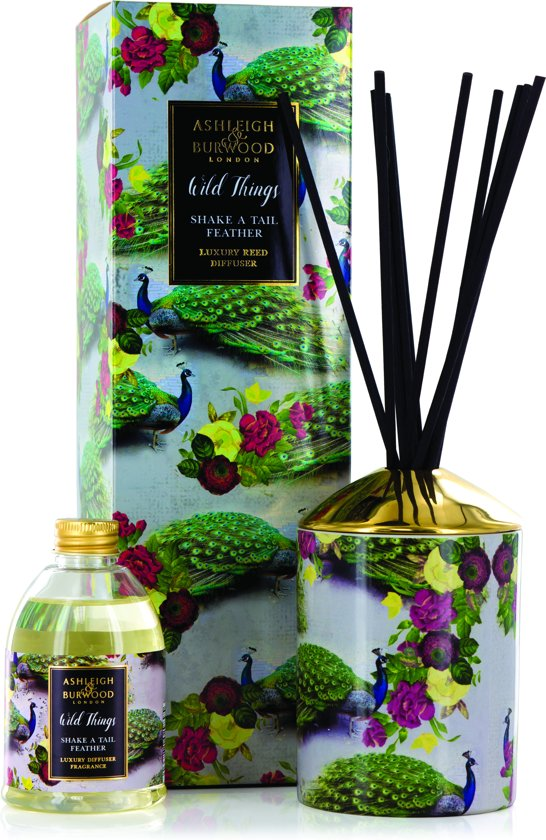Ashleigh & Burwood Shake a Tail Feather Wild Things Reed Diffuser