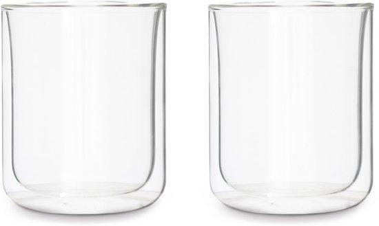 Viva Scandinavia - Classic Koffieglas - Dubbelwandig - 300 ml - Set van 2 stuks - Transparant