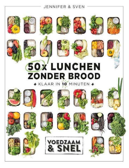 Boek cover 50x lunchen zonder brood van Sven En Jennifer (Hardcover)