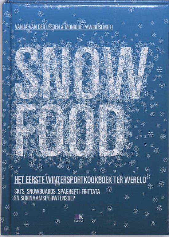 Boek cover Snow Food van Vanja van der Leeden (Hardcover)