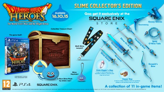 Dragon Quest Heroes - Collector's Edition - PS4