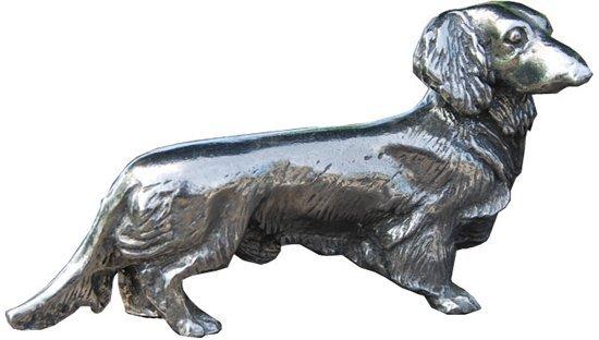 Teckel Hond Staand - Langharig - Miniatuur