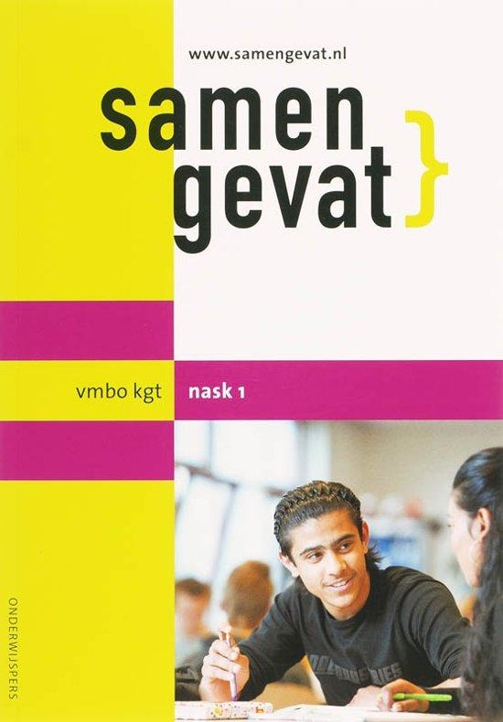 Boekomslag voor Samengevat vmbo-kgt NaSk1