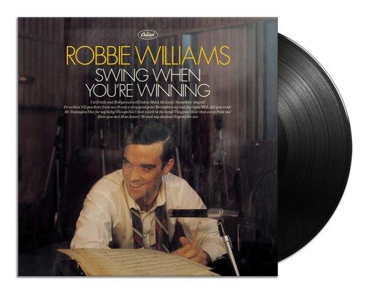CD cover van Swing When Youre Winning (LP) van Robbie Williams